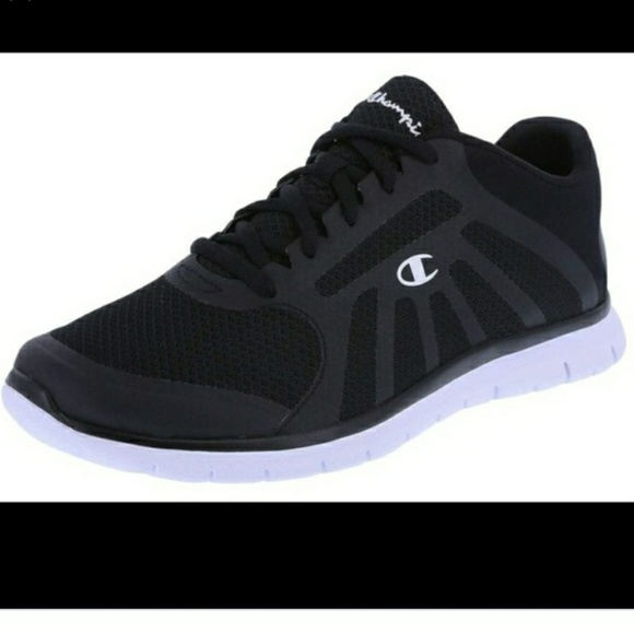 eccc7349b Champion Shoes - Used Black Champion Sneakers